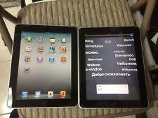 Lots 2 Apple iPad 1st Generation 32GB, Wi-Fi, 9.7in - Black