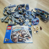 LEGO Star Wars 4504 Millennium Falcon redesign  - Rare Retired Set