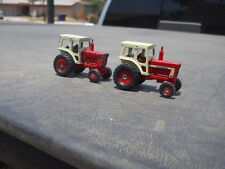 2  ERTL IH International 1466 Farm Toy Tractor Blue Print Series 1/64 Lot IH-01