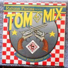 Ralston TOM MIX Straight Shooters Radio Broadcasts Vol 1 LP Album - 1982 Mark56