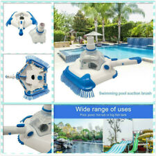 Advanced Swimming Pool Suction Vacuum Head Brush Cleaner Above Ground