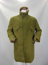 MILITARE MILITARY Uniforme Uniform Parka Cappotto Trench Coat Tg L Man Uomo G11