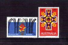 AUSTRALIA 1967 Christmas set MUH