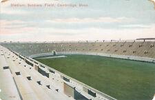 Cambridge MA * Soldiers Field Football Stadium ca. 1908 *