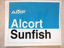 AMF Alcort SUNFISH cockpit sticker