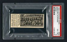 PSA 6 DOMINION CHOCOLATES #30 WESTON LaCROSSE CARD