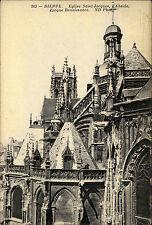 Dieppe Frankreich CPA ~1914/18 Eglise St. Jaques l'Abside Renaissance Kirche