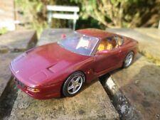 DETAIL CARS FERRARI 456 GT bordeaux metal échelle 1/43 comme neuf sans boite
