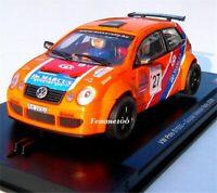 Power Slot Volkswagen VW POLO S1600 ORANGE GULYASL 1:32 SLOT CAR