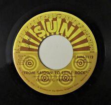SUN C&W 45: CHARLIE C. FREEMAN Saigon to Little Rock/You're More Than I'm Worth