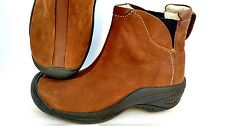 Keen Women's Size 6 Leather Brown Ankle Boots # 0505