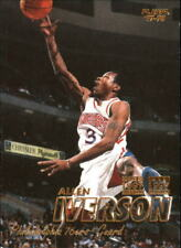 Allen Iverson #3 Fleer Crystal Collection 1997/98 NBA Basketball Card
