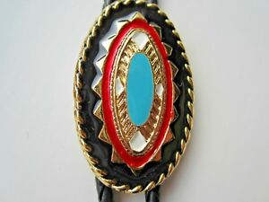 Bolo Tie Lovely Native American Design Made In The USA