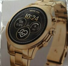 Runway MKT5045 Reloj inteligente Michael Kors acceso-Oro