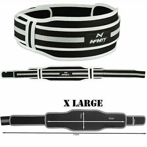 Weight Lifting Belt Fitness Gym Exercise Neoprene Back Support Body Building AL