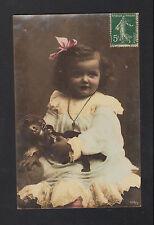 BEBE avec sa POUPEE en 1907 éditeur NPG 423/3