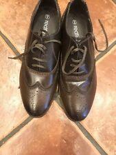Herren Leder Brogue Schuhe 9