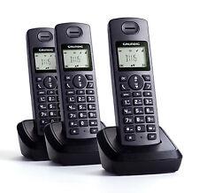 Grundig D1115 Trio (sp) Schnurlos Telefon mit 3x Mobilteil & Anrufbeantworter