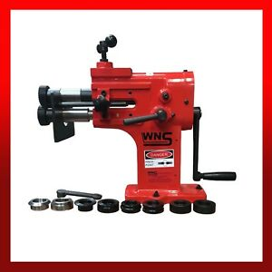 Hand Swager Swage Swaging Rotary Jenny Bead Former Roller Machine 1.2mm 5 Rolls
