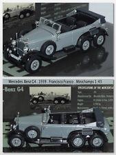 Mercedes-Benz G4 1939 - Francisco Franco 1/43 - Minichamps - Leaders séries No11