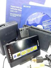 Sony DSC-T77 CyberShot 10.1 MP MegaPixel HD Digital Camera - Black - DSCT77/B