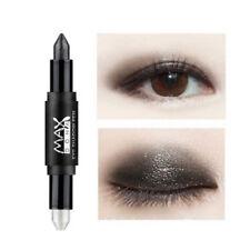 Women Makeup Glitter Eye Shadow Primer Pen Double Ended Eyeshadow Stick 14Colors