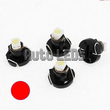 1 Red SMD LED T3 Neo Wedge 12v Interior LED Bulb