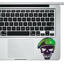 """Skull Military Sitcker for Laptop ipad Phone surface Pro Viny Decal Macbook 13"""""""