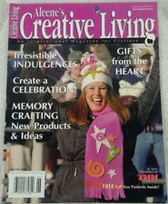 Aleene's Creative Living magazine January 2000 Vol. 12 #6 Full Size Patterns