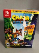 Crash Bandicoot: N Sane Trilogy Controller Nintendo Switch Accessories & Game