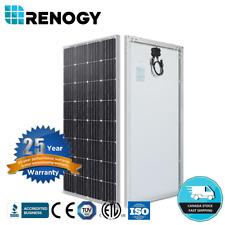 Renogy 160W 12V Monocrystalline Solar Panel 150W Watt Off Grid Power Home Garden