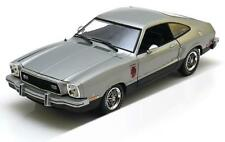 FORD MUSTANG 2 STALLION 1976 SILVER GREENLIGHT 12890 1/18 SILBER ARGENT