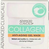 Advanced Clinicals Collagen Anti-Aging Gel Mask, 5 fl oz