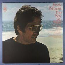 Andy Williams - The Way We Were - CBS 80152 Ex+ État vinyle LP