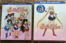 Sailor Moon Season 1 Set One Bluray/dvd Limited Edition Anime BRAND