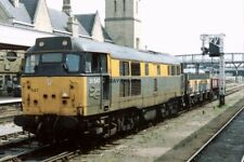 PHOTO  CLASS 31 LOCO NO 31547 ALMOST RUNNING LIGHT ENGINE AT LINCOLN 1992