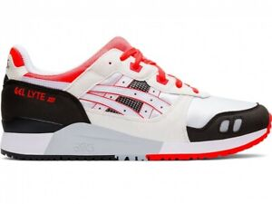 Asics Sport Style Men's Shoes GEL-LYTE III OG 1191A266 WHITE/FLASH CORAL