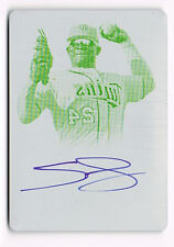 2013 Bowman Sterling Miguel Sano AUTO RC Yellow Printing Plate 1/1 FREE SHIPPING