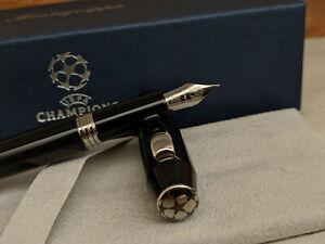 Montegrappa UEFA Champions League UCL Trophy Black M Fountain Pen, SALE 45% OFF!