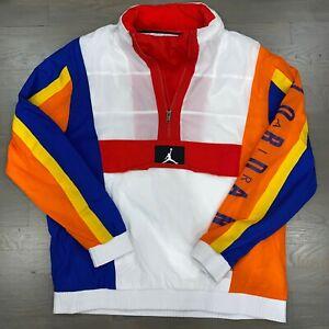Nike Air Jordan Wings Windwear Packable Hood Jacket AV1834-103 Men's Size XXL