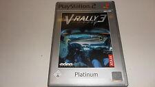 PLAYSTATION 2 PS 2 Atari V-RALLY 3