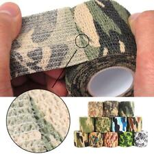 4.5M Roll Self-adhesive Non-woven Wrap Gun Hunting Camo Stealth Camouflage Tape