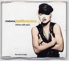 Madonna Maxi-CD justify My Love-william Orbit remix-German 3-track CD