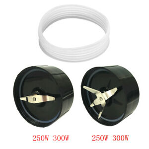 Cross blade replacement part for magic bullet included rubber gear seal rin AU