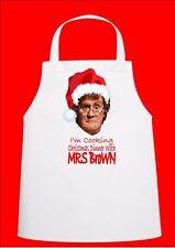 Signora Marrone Novità di Natale chef grembiule regalo per Secret Santa