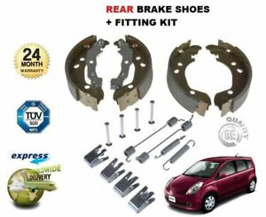 FOR NISSAN NOTE E11 1.4 1.5 1.6 2006-2013 REAR HAND BRAKE SHOES & FITTING KIT