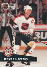 New listing Wayne Gretzky 1991-92 Pro Set French #285 Kings Hockey Card