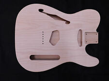 Ash T-Style Guitar Body Chambered