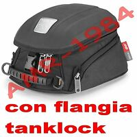 SACOCHE DE RÉSERVOIR GIVI MT505 BMW R1200 GS 2013 - 2014 + BRIDE BF12 TANKLOCK