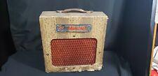 Vintage 1940's Melcor Minstrel 415 Tube Combo Amplifier Serviced & Ready